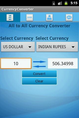 X-Rates: Exchange Rates