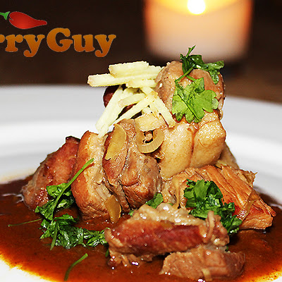 Slow Cooked Belly Pork In A Traditional Goan Vindaloo Sauce