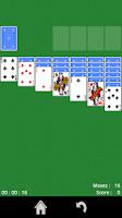 Screenshot of Solitaire