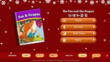 Screenshot of The Fox and the Grapes