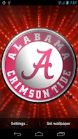 Screenshot of Alabama Crimson Tide LWP &Tone
