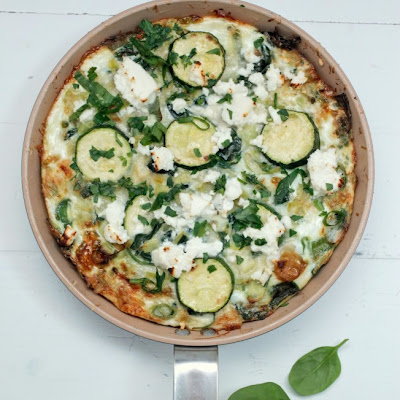 Egg White + Greens Frittata