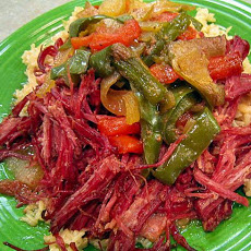 Corned Beef Brisket in Raspberry Vinaigrette (Crock Pot)