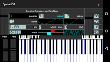 Screenshot of FM Synthesizer [SynprezFM II]