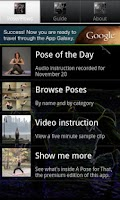 Screenshot of Yoga-pedia