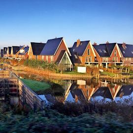 Dutch Modern Houses by Maritha Graph - Buildings & Architecture Homes ( #dutch #modern #house )