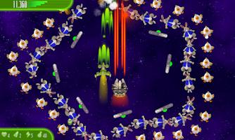 Screenshot of Chicken Invaders 4 Easter