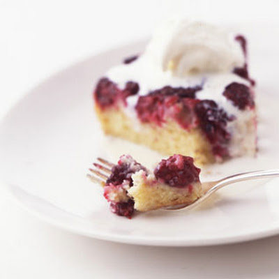Blackberry Upside-Down Cake