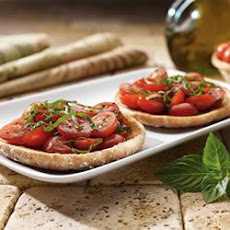 Grape Tomato Bruschetta