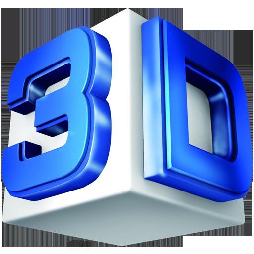 3D文字 休閒 LOGO-阿達玩APP