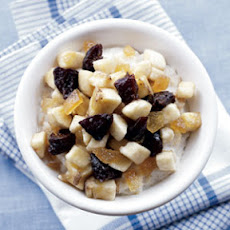 Oatmeal with Prune & Banana Compote