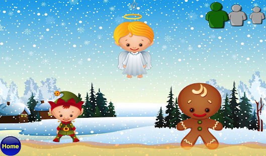 Toddlers Christmas Alphabet - screenshot