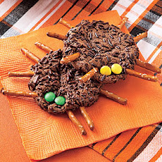 Chocolate-Cookie Spiders