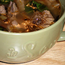 Dilled Vegetable-Beef Soup