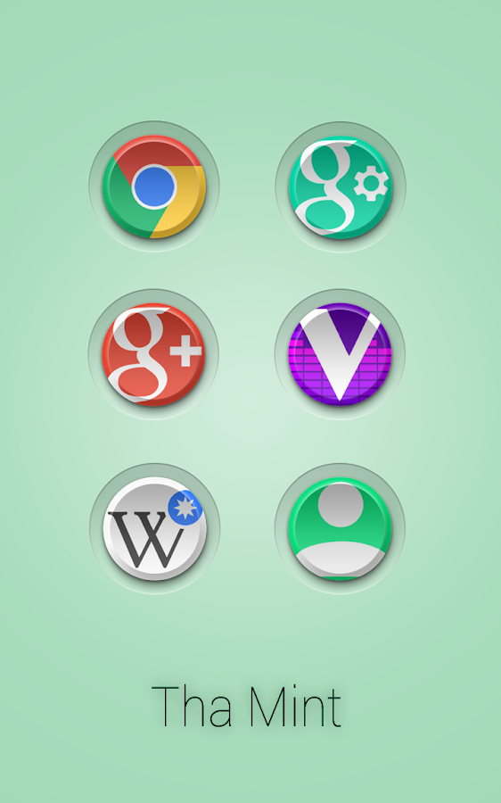 Tha Mint - Icon Pack Screenshot 3