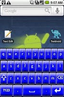 Screenshot of Better Keyboard Skin - Blue