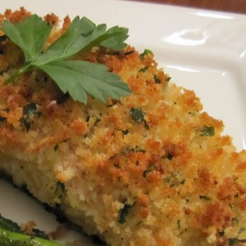 Parmesan Crusted Baked Fish
