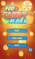 Screenshot of 100 Candy Balls 3D