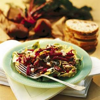 Beet and Walnut Salad with Meursault Vinaigrette