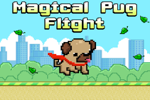 Screenshot of Magical Pug Flight
