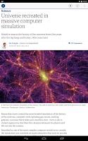 Screenshot of The Guardian