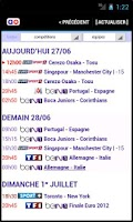 Screenshot of Soccer TV listings FOOTAO.tv