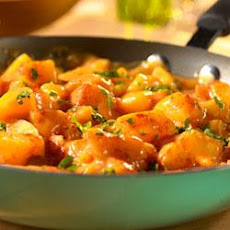 Cheesy Picante Potatoes