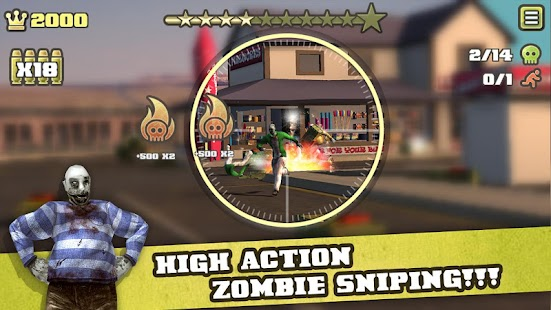 Zombie Snipe - screenshot