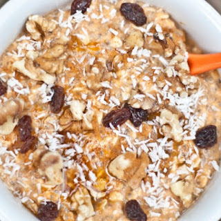 Pumpkin Pie Vegan Overnight Oats