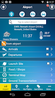 Screenshot of Airport (All) + Flight Tracker
