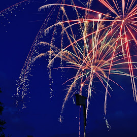 by Ryan Chornick - Abstract Fire & Fireworks