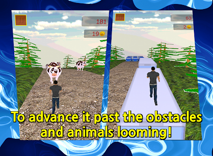 Wild Safari -The Running Game- - screenshot