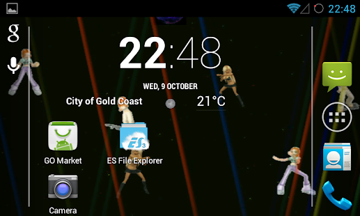 Disco Live Wallpaper - screenshot