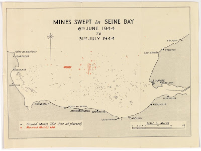 Mines in Seine Bay
