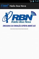 Screenshot of Rádio Boa Nova