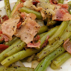 Fresh Warm Green Bean Salad