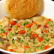 Easy Chunky Chicken Soup