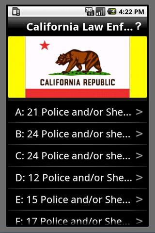 California Police Jobs