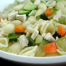 Chicken and Zucchini Soup