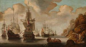 RIJKS: Jacob Adriaensz. Bellevois: painting 1676