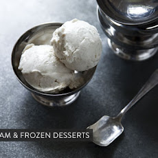 Coffee Goat Cheese Ice Cream