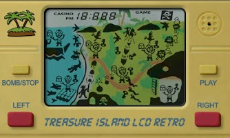 Screenshot of Treasure Island LCD Retro
