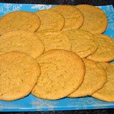 Nutmeg Molasses Cookies