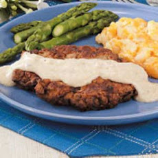 Chicken-Fried Steaks Recipe