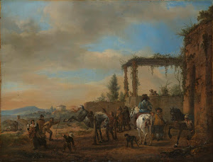RIJKS: Philips Wouwerman: The Riding School 1660