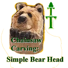 How-To Carve: Simple Bear Head icon