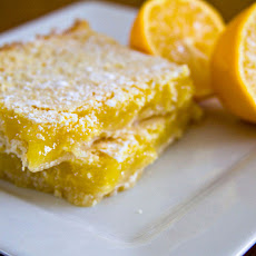 Chef Joey's Vegan Lemon Squares