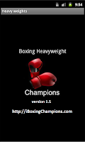 Screenshot of Boxing Heavyweight Champions