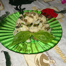 Cauliflower With Capers En Vinaigrette S'il Vouz Plait