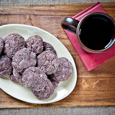 Thyme Flaxseed Rice Crispies Dark Chocolate Cookies